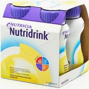 Nutridrink Vanila 4x200ml