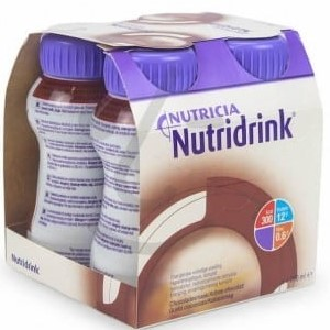 Nutridrink Čokolada 4x200ml