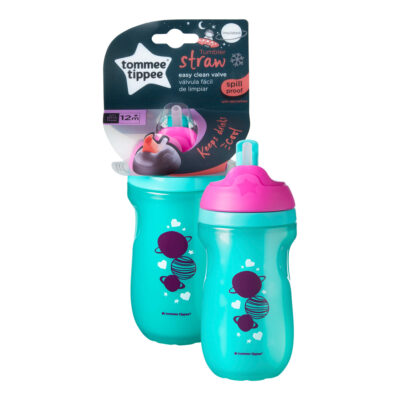 Tommee Tippee StrawCup 260ml Roze